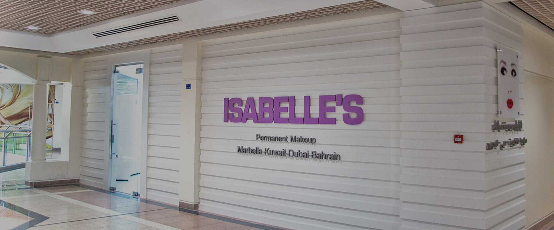 The front view of the Isabelle's Permanent Makeup Salon.
